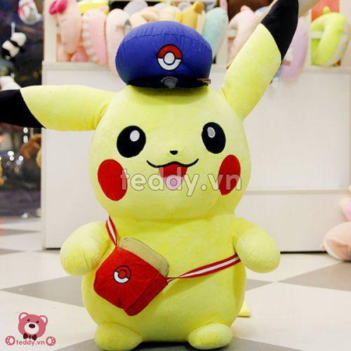 Pikachu Mũ Bông