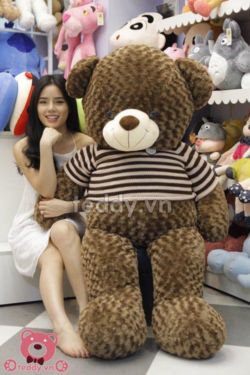 Gấu bông Khổng lồ teddy socola