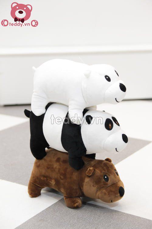 Bộ 3 chú gấu nằm