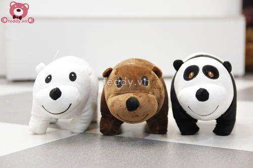 Bộ 3 chú gấu nằm.