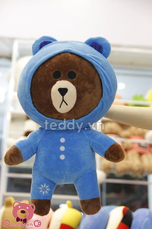 Gấu Brown áo mũ