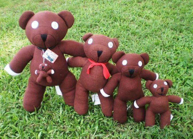 người bạn thân thiết gấu teddy mr bean của ngài bean
