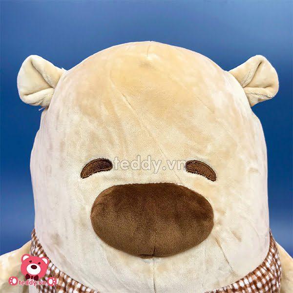 Gấu Mũi To Ngồi Bông