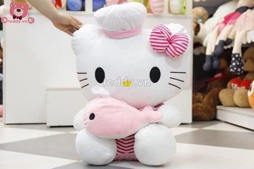 Kitty Ôm Cá