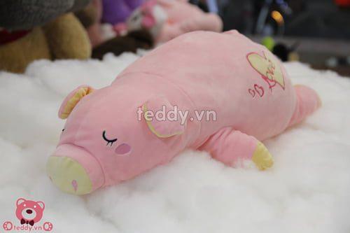 Lợn hồng nằm