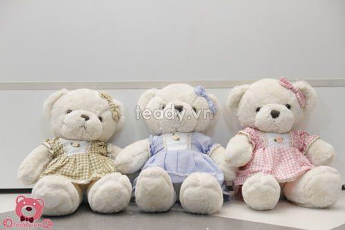 Gấu Teddy nhỏ Baby xinh xắn khiến bạn gái