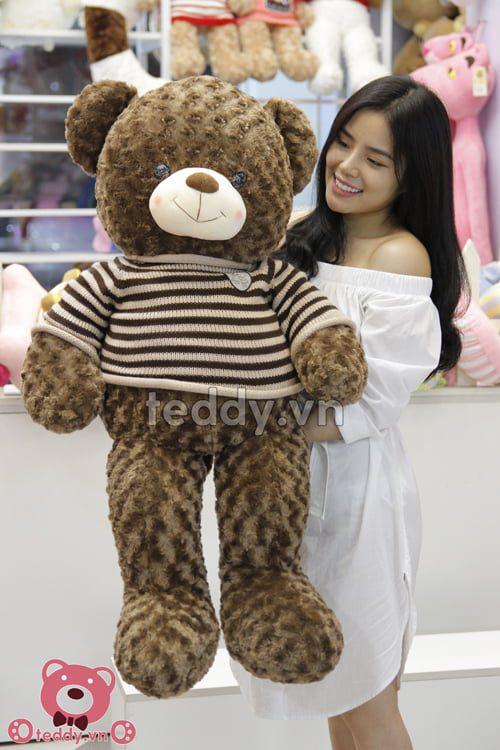 Gấu teddy socola