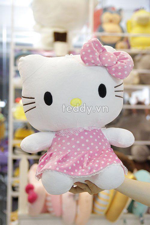 Kitty váy chấm bi
