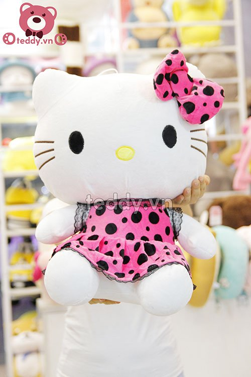 Kitty váy chấm