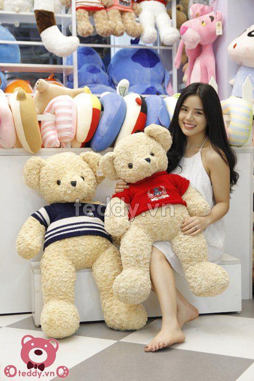 Gấu teddy áo gấu teddy