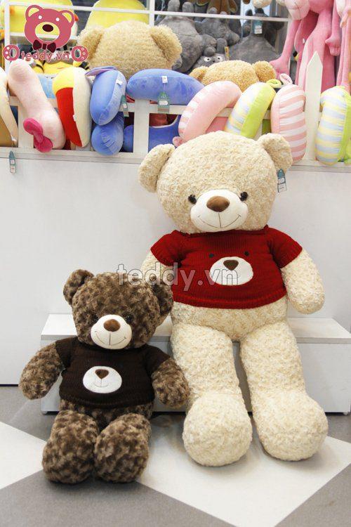 Teddy len mặt gấu