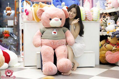Teddy Áo Len Baymax