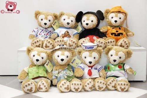 Các sản phẩm gấu bông tại teddy.vn