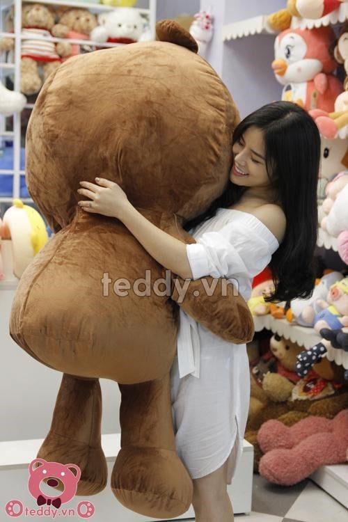Gấu bông teddy socola khổng lồ