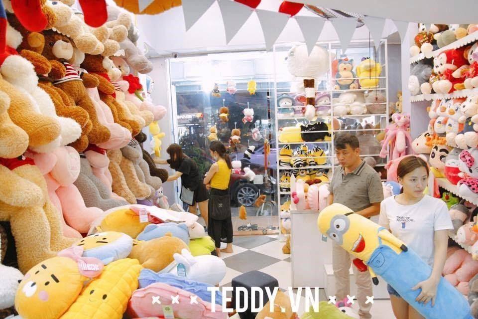Teddy.vn địa chỉ shop gấu bông Teddy uy tín ở Hà Nội