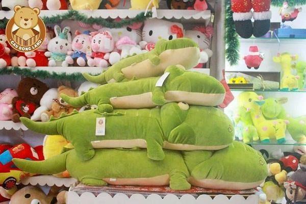 Gấu bông cá sấu đáng yêu