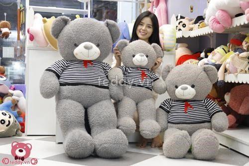 Gấu bông cao cấp món quà tuyệt vời dành tặng bạn gái