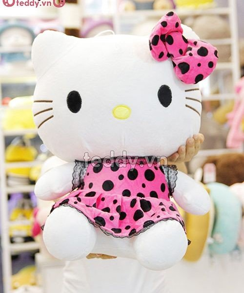 Gấu bông Hello Kitty.