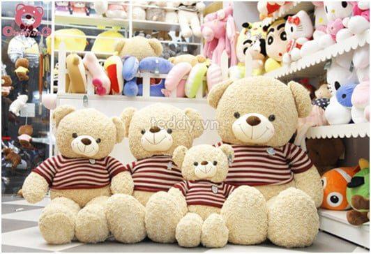 Gấu bông cỡ lớn logo baby 10% hàng nhập khẩu chất lượng cao