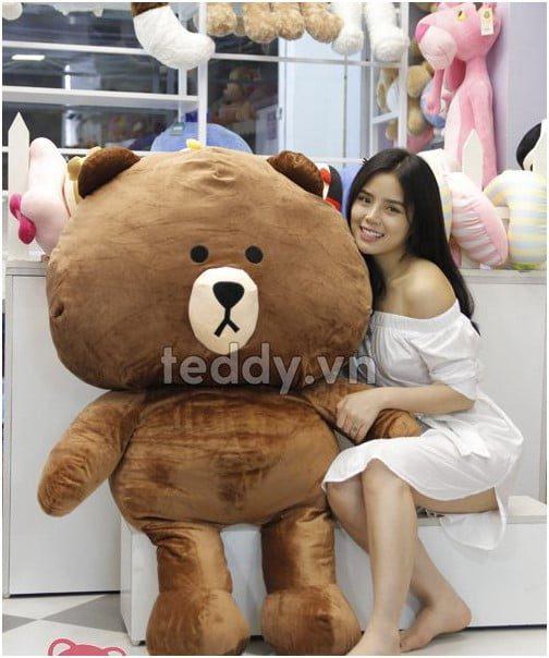 Gấu Brown đại cực dễ thương