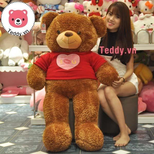 Gấu Teddy nhập khẩu loại to-món quà đặc biệt dành tặng người yêu thương