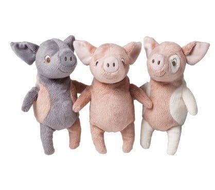 Thiết kế nhỏ nhắn và đa dạng của những chú lợn bông
