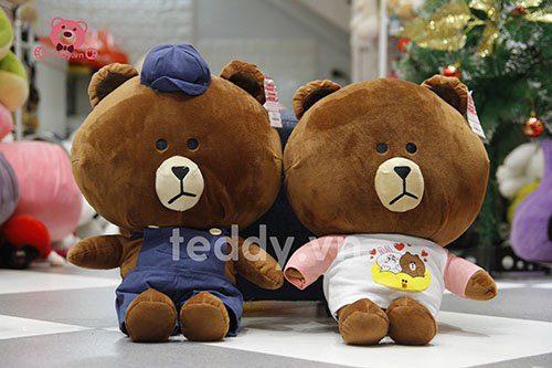Gấu brown chăn