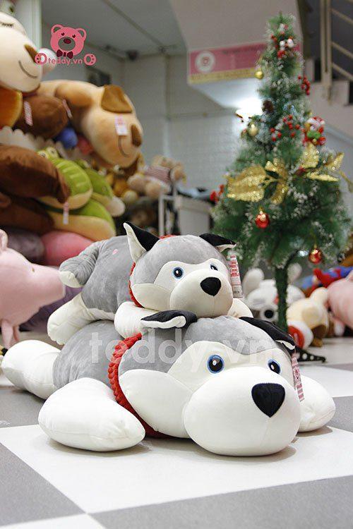 Chó bông Husky Mềm