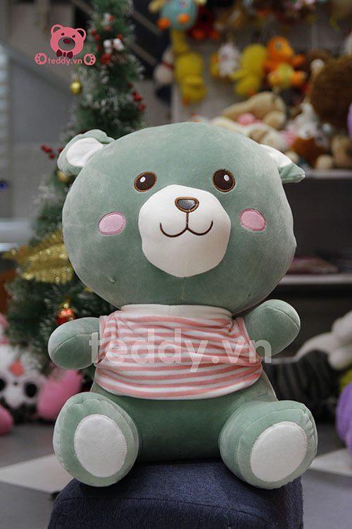 Gấu áo kẻ