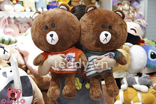 Gấu brown áo len