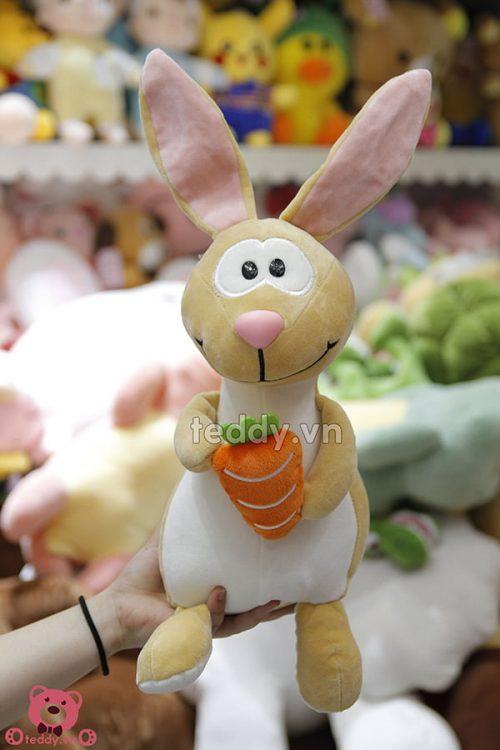 Thỏ Bông Ôm Cà Rốt