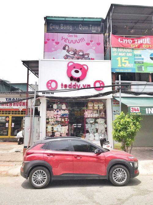 Shop Gấu Bông Teddy ở 346 Thái Hà