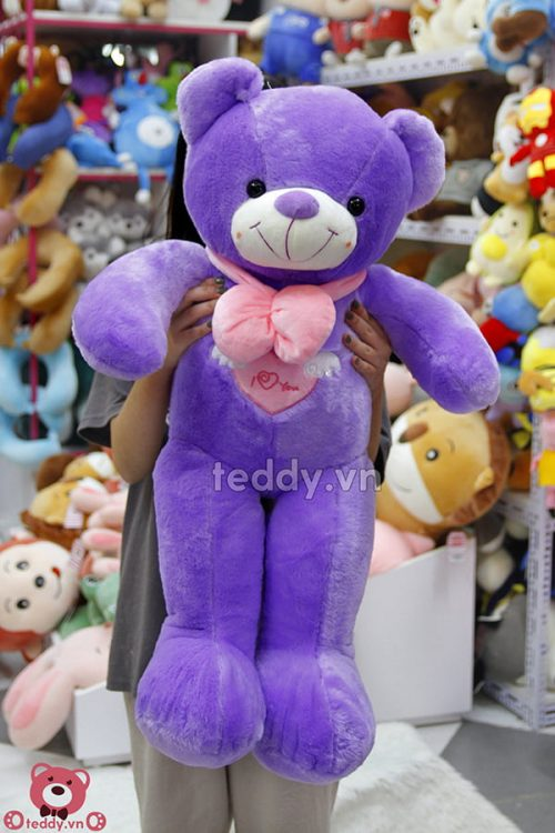 Teddy Angel Tím