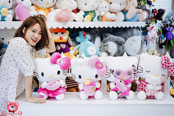 Gấu Bông Hello Kitty Các Loại