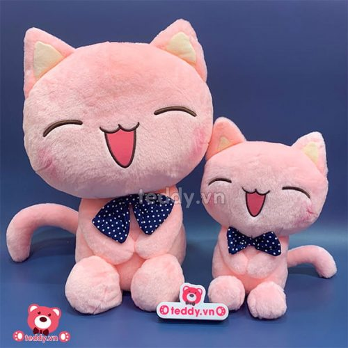 Mèo Híp Hồng Bông