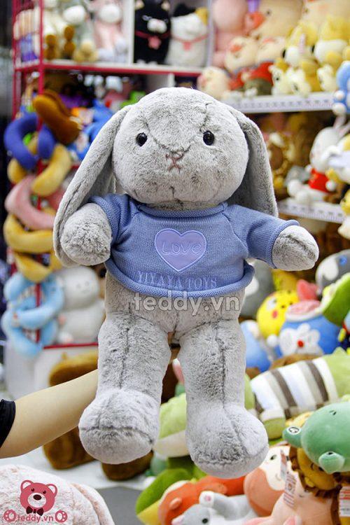 Thỏ Bông Áo Len Love