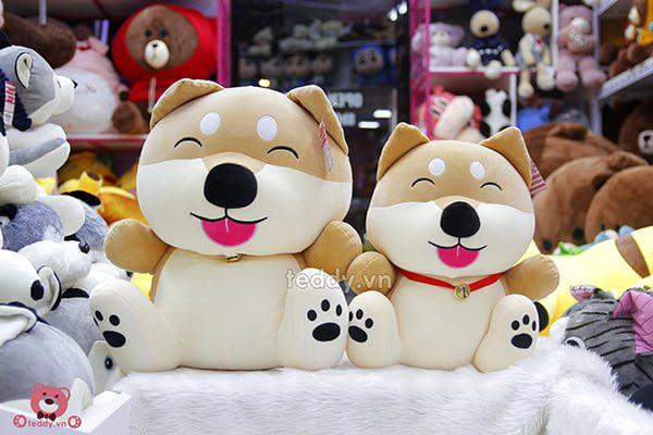 Chó Shiba Chuông Bông