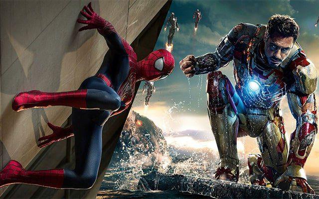 Poster Spider Man seríe 1, 2, 3