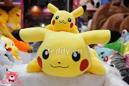 Pikachu Bông Nằm