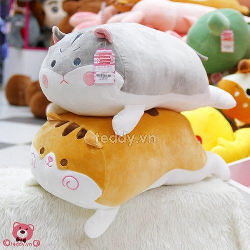 Gối Bông Mèo Mềm