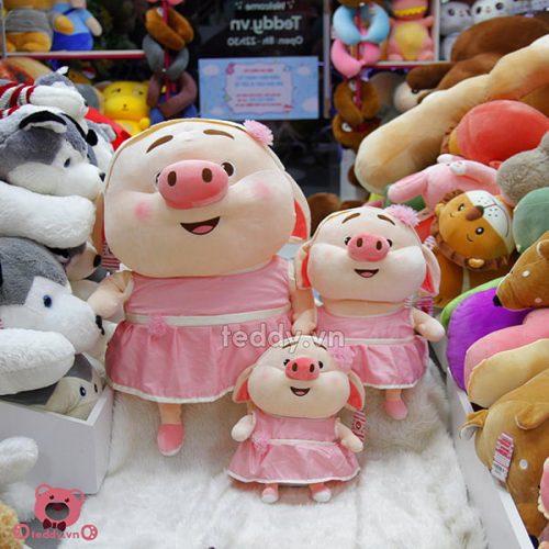 Lợn Bông Tik Tok Mềm