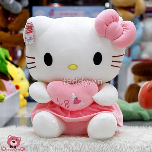 Kitty Ôm Tim Mềm