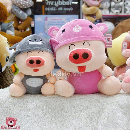 Lợn Bông Mũ Lệch