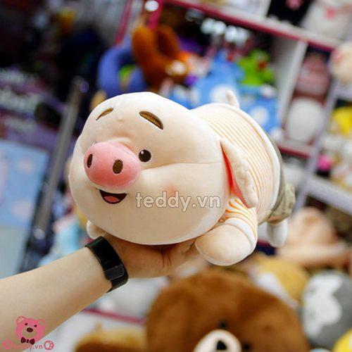Lợn Bông TikTok Nằm Mềm