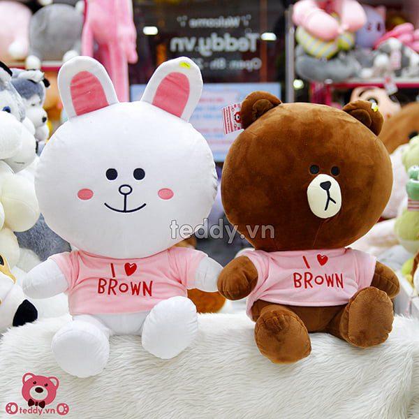 Brown Cony Áo Đôi