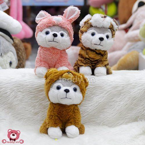 Chó Xám Bông Cosplay