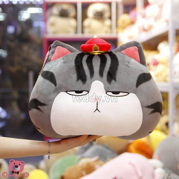Gối Bông Mèo Hoàng Thượng
