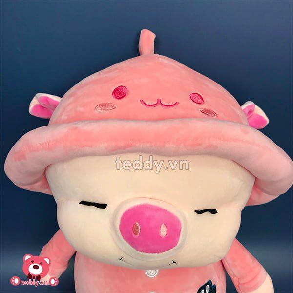 Lợn Mũ Bông Chân Dài