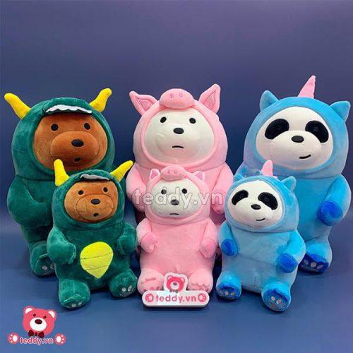 Bộ Ba Gấu Cosplay