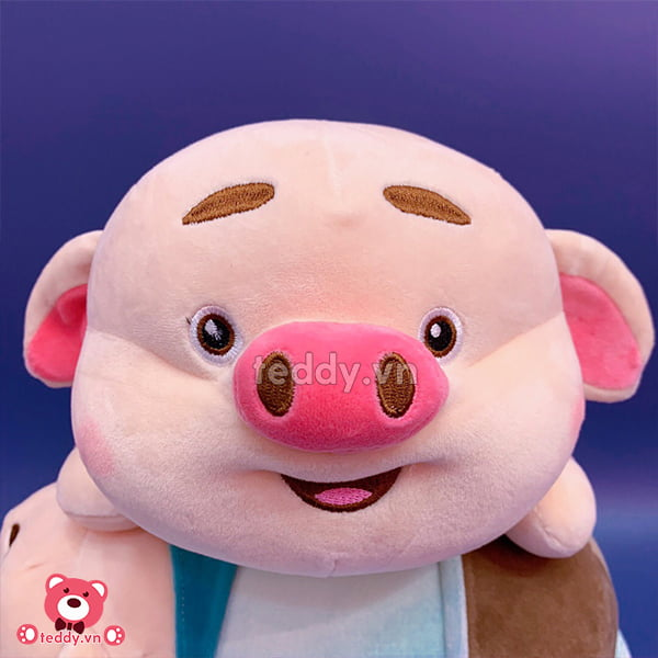 Gấu Nhỏ Lợn Bông Tik Tok Cosplay Nằm